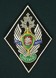 Arm emblem «Babushkin's Institute of the Federal Border Service of Russia»